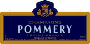 Luxe gesc henkpakket met champagne Pommery en champagneglazen