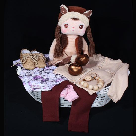 523504c75622db Geboortemand meisje - met kleertjes van Ducky Beau - Flower. Hoe leuk is  deze geboortemand
