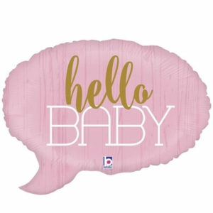 Babygift girl - Hello baby