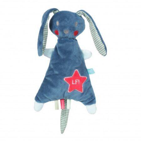 Geboortepakket voor jongen in blauw-wit - Geboortecadeau Dex. Een stoer en lief jongenscadeau dat is deze geboortemand zeker.