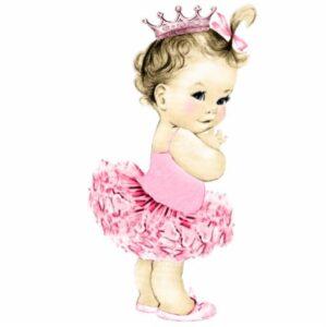 Geboortegeschenk meisje met ballerina schoentjes