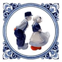 De illustraties zijn geïnspireerd op typische Hollandse tafereeltjes