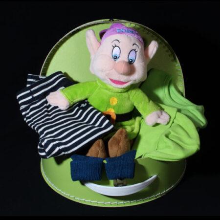 Geboortecade jongens stoer koffertje