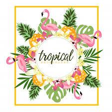 Tropisch verwenpakket voor haar