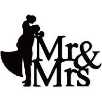 Huwelijksgeschenk - Cadeau voor huwelijk - Mr & Mrs. Een chique en modern huwelijksgeschenk, een cadeau voor ieder Bruidspaar